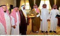 استقبال صاحب السمو الملكي الأمير تركي بن عبد الله أمير منطقة الرياض للمشرف العام على المركز